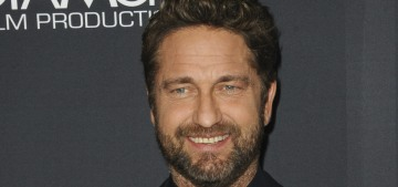 Gerard Butler would rather make out with Jennifer Aniston than Angelina Jolie