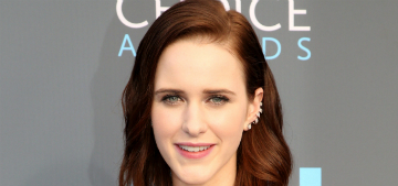 Rachel Brosnahan 'really struggled' with the decision to work with Woody Allen