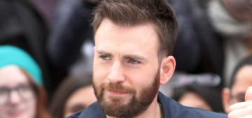 Chris Evans: If you were dorky & awkward at the age of 10, you'll always feel that way