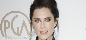 Allison Williams in Ulyana Sergeenko at the Producers Guild Awards: stunning?