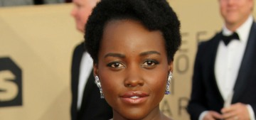 Lupita Nyong'o in Ralph and Russo at the SAG Awards: stunning & perfect?