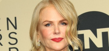 Nicole Kidman in Armani at the SAG Awards: gorgeous or bland?