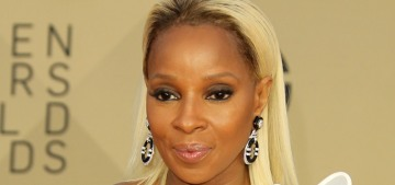 Mary J. Blige in Jean Louis Sabaj at the SAG Awards: is it weird to love this?