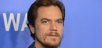 Michael Shannon will not wear dull, conservative suits to his big premieres, okay?