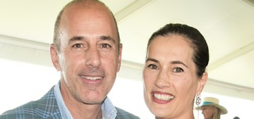 Matt Lauer's estranged wife kicked him out of the Hamptons mansion they shared