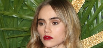 Suki Waterhouse, 26, is apparently dating 48-year-old Darren Aronofsky now