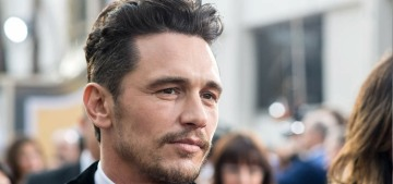 Being accused of abusive behavior has been 'very hard' on James Franco