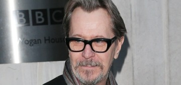 Why isn't anyone asking Gary Oldman about politics, abuse or #MeToo?