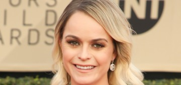 Taryn Manning is upset that her stylist gave her a $200 dress to wear to the SAGs
