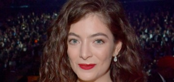Lorde didn't perform at the Grammys because they wouldn't let her perform solo