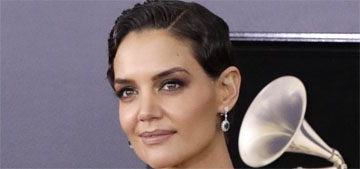 Katie Holmes in Zac Posen at the Grammys: right dress, wrong event?