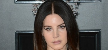 Lana del Rey in Gucci at the Grammys: sad sack dress or vintage glam?