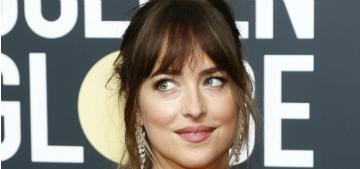 Dakota Johnson: I wasn't looking at Joile during Aniston speech