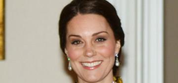 Duchess Kate wore Erdem for the Stockholm black-tie dinner: devastatingly bad?