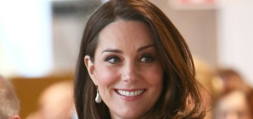 Duchess Kate wore McQueen & houndstooth Catherine Walker in Stockholm