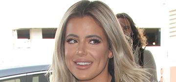 Brielle Biermann denies she's had plastic surgery: 'my face is fat'