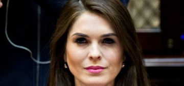 Hope Hicks allegedly conspired to obstruct justice regarding Don Jr's Russian meeting