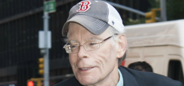 Stephen King asks Twitter followers to cheer him up with jokes