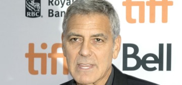 Does George Clooney want to take to the London stage now that his films bomb?
