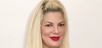 Star: Tori Spelling is offering to gain weight for a diet endorsement deal