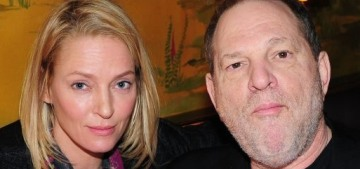 Uma Thurman tells her #MeToo story about Harvey Weinstein & Quentin Tarantino