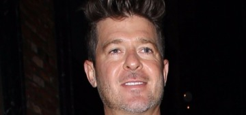 Robin Thicke & April Love Geary will name their daughter Mia Love Thicke, you guys