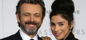 Sarah Silverman & Michael Sheen 'consciously uncoupled' over Christmas