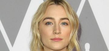 Saoirse Ronan & Greta Gerwig are dressing like soon-to-be Oscar losers