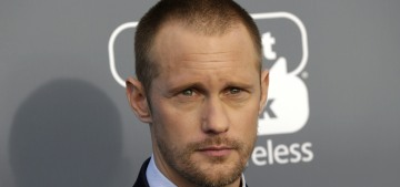 Alex Skarsgard: 'I'm 100 percent feminist,' Sweden is 'ahead of most countries'