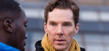 Benedict Cumberbatch played soccer with kids ahead of hosting the Laureus Awards