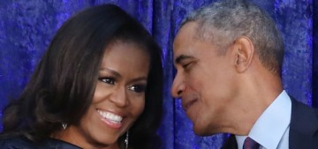 What do you think of Barack & Michelle Obama's official portraits?