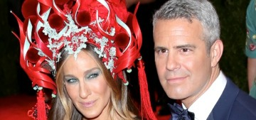 Andy Cohen had to chime in on the Sarah Jessica Parker-Kim Cattrall fight