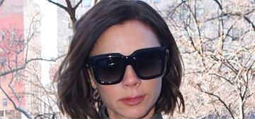 Victoria Beckham got a choppy bob: cute and chic?