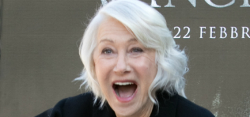 Helen Mirren: 'I want to rage into the night. I do not want to go gracefully'
