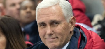 VP Mike Pence bought Mother's Valentine's Day gifts at CVS at the last minute