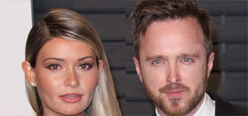 Aaron Paul and Lauren Parsekian named their baby girl Story Annabelle