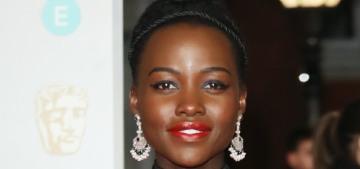 Lupita Nyong'o wore Elie Saab to the BAFTAs: cheap-looking or fantastic?