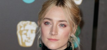Saoirse Ronan in Chanel at the 2018 BAFTAs: gorgeous or unflattering?