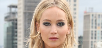 Jennifer Lawrence defends her slinky Versace: 'This is sexist, this is ridiculous'