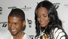 Usher is hoping for a boy