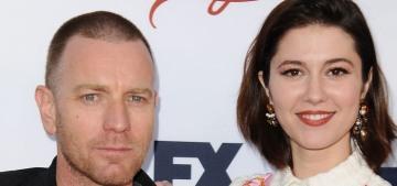 Did Mary Elizabeth Winstead dump Ewan McGregor after he left his wife?