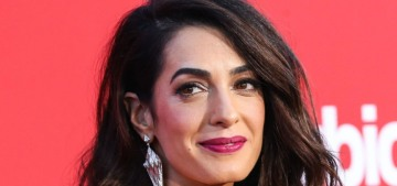 Amal Clooney is 'in awe' of the Parkland students' courage & activism
