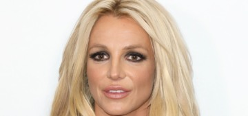 Britney Spears seemed okay, won a big award at the Hollywood Beauty Awards