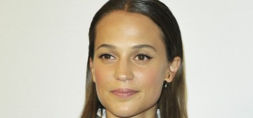 Alicia Vikander is totally fine with Team USA beating Team Sweden in curling
