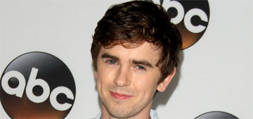 Star: Freddie Highmore is awkward with women, hasn't dated in nine years