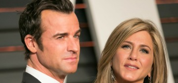 Justin Theroux & Jennifer Aniston needed a custody agreement for their four dogs