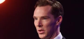 """Benedict Cumberbatch danced/flailed at the Laureus Sports Awards"" links"