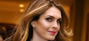 Hope Hicks is resigning from her White House Communications Director job