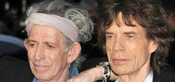 Keith Richards apologized for joking that Mick Jagger needs a vasectomy