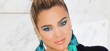 Khloe Kardashian: 'I choose to cradle my bump because it's MINE'